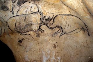 Pinturas prehistóricas de la cueva de Chauvet.