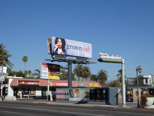 Grownish TV billboard