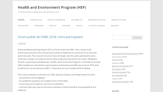 Health and Environment Program
