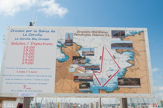 Paseo maritimo de A Coruña