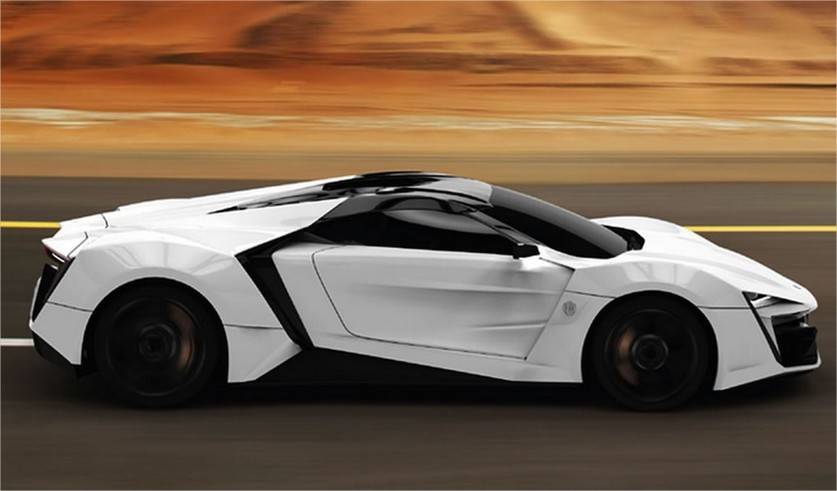Most Expensive Supercars >> World Automotive Lykan Hypersport Most Expensive Supercar