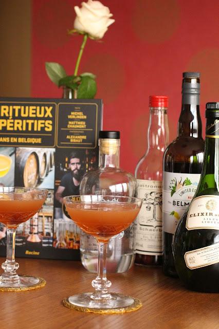 livre cocktails belgique