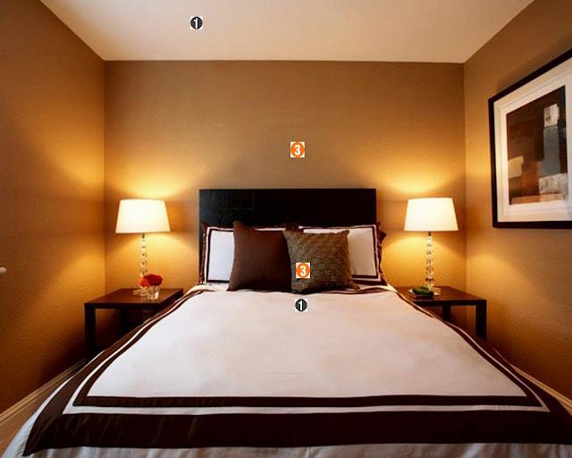 quarto, marrom, amarelo e branco, casal, ideias, decorar, casamento, dicas, decoração, decorar, casa, home, bedroom,