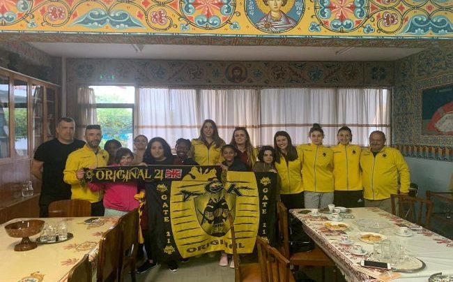 a5d1c139f0 Η γυναικεία ομάδα βόλεϊ της ΑΕΚ πιστή στην παράδοση που έχει δημιουργήσει  τα τελευταία χρόνια