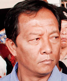 Binay Tamang, the chairperson of the board of administrators to run the GTA