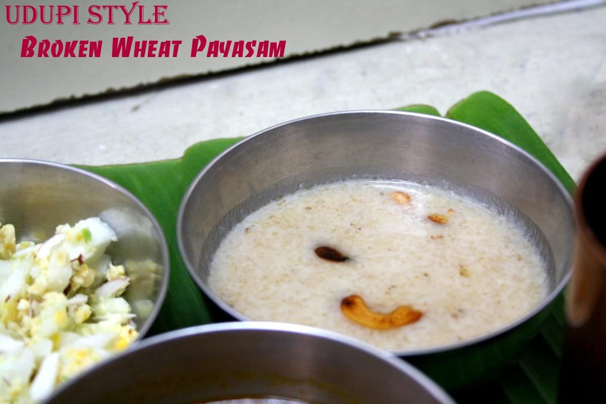 Dalia upma recipe broken wheat upma godhi upma or godhuma upma
