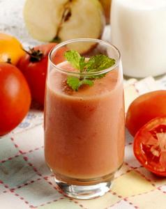 Jus buah semangka mix pepaya tomat