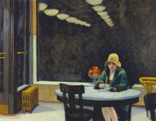 edward hopper, automat