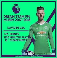 Dream Team Fantasy Premier League Musim 2017/2018