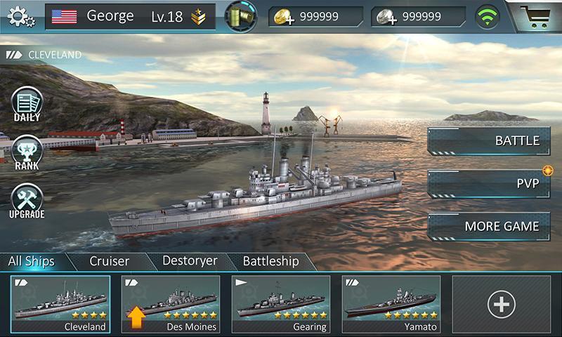 Warship Attack 3D MOD APK