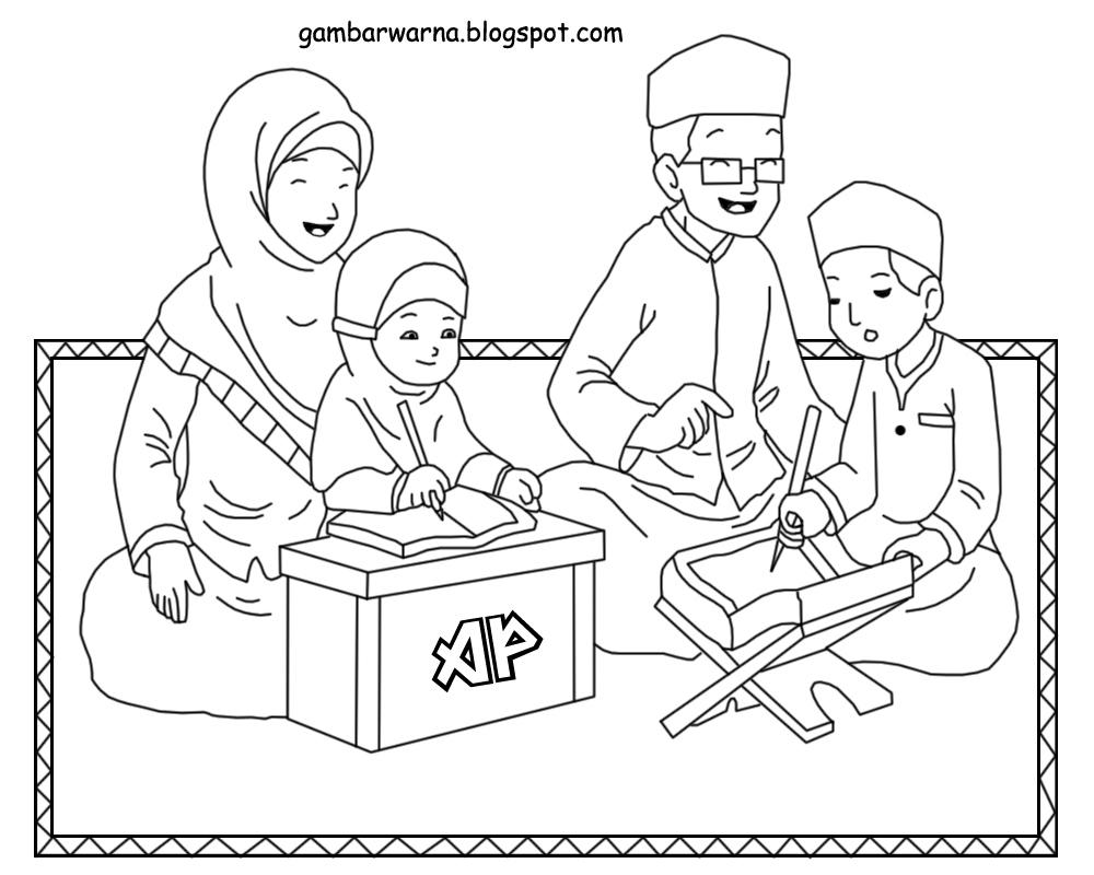 Gambar Kartun Muslimah Keluarga Kantor Meme