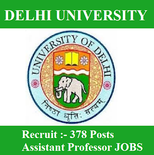 University of Delhi, DU, Delhi, Delhi University, University, Assistant Professor, Professor, Post Graduation, freejobalert, Sarkari Naukri, Latest Jobs, Hot Jobs, du logo