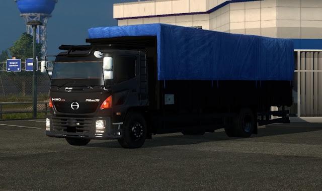 contoh truk hino lohan keren