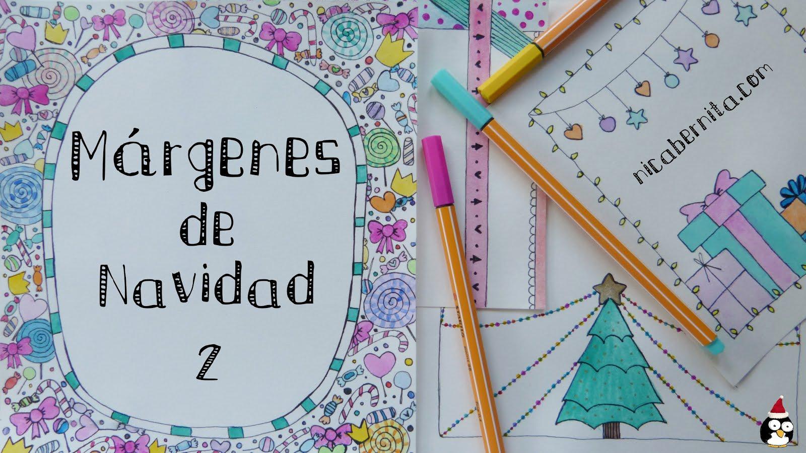 Ideas de MÁRGENES Y BORDES para decorar cuadernos, cartas o TARJETAS ...