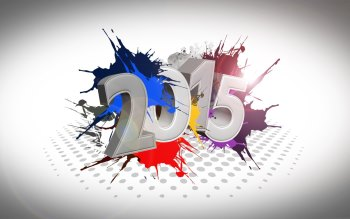 Wallpaper: 2015 Happy New Year