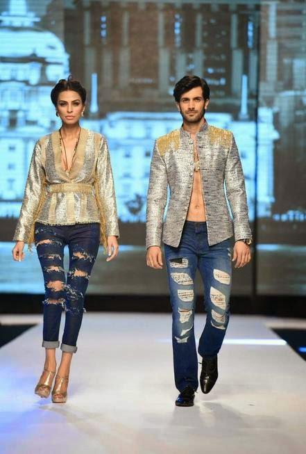 Haq S Musings Fashion Pakistan Week 2014 Fall Winter Collections Show In Karachi