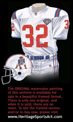 New England Patriots 1994 uniform