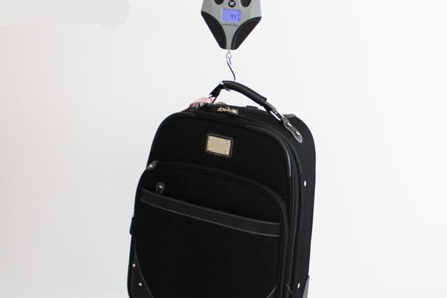 Peso das bagagens para o exterior