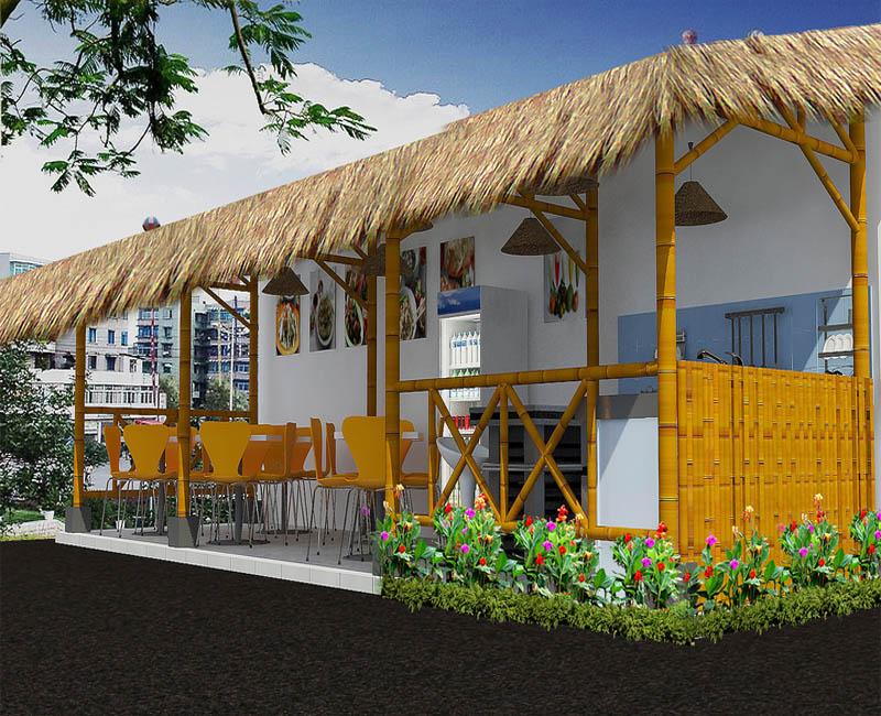 35 Tren Gaya Desain Cafe Mini Outdoor Pinggir Jalan Desain Cafi1 2