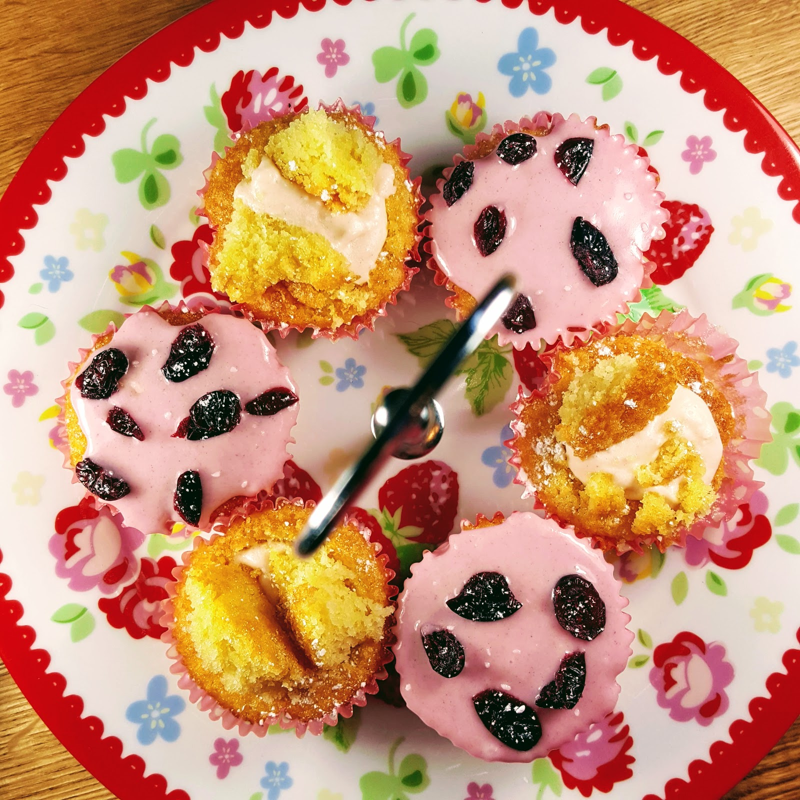 Gluten Free Cranberry And Oats Flapjack Bars And An Easy Peasy Cupcake Selection