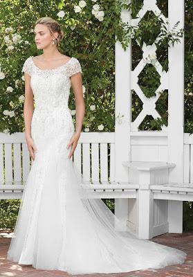 Vestidos de novia corte sirena