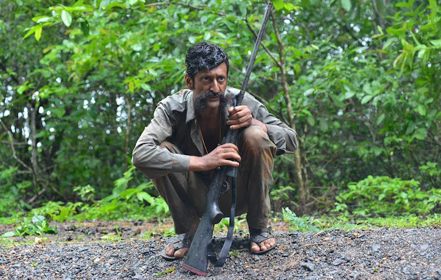 Sandeep Bharadwaj as Veerappan, directed by Ram Gopal Varma