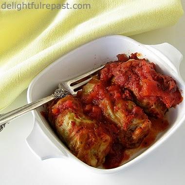 Stuffed Cabbage Rolls / www.delightfulrepast.com