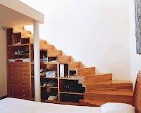 Ideas para ahorrar espacio debajo de la escalera zapatos y ropa