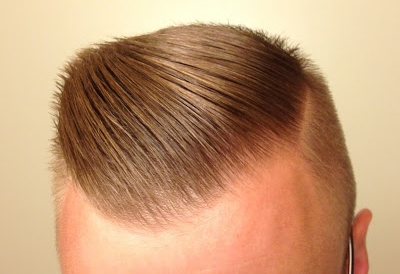 Hasil Pemakaian Dax Washable Hair Wax