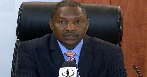 Maina ran account through sms, e-mail - Malami tells Senate panel