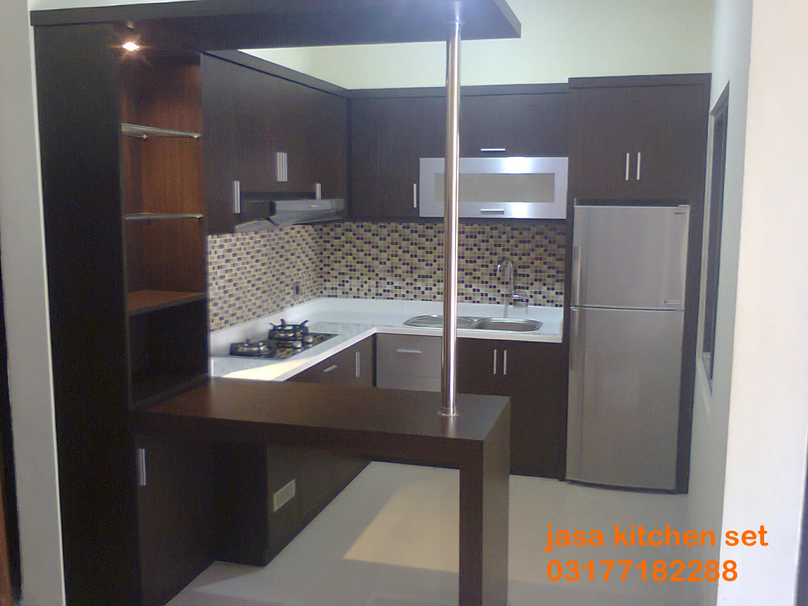 Kitchen Set Mini Bar Dapur Kecil