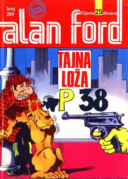 Tajna loza P38 - Alan Ford