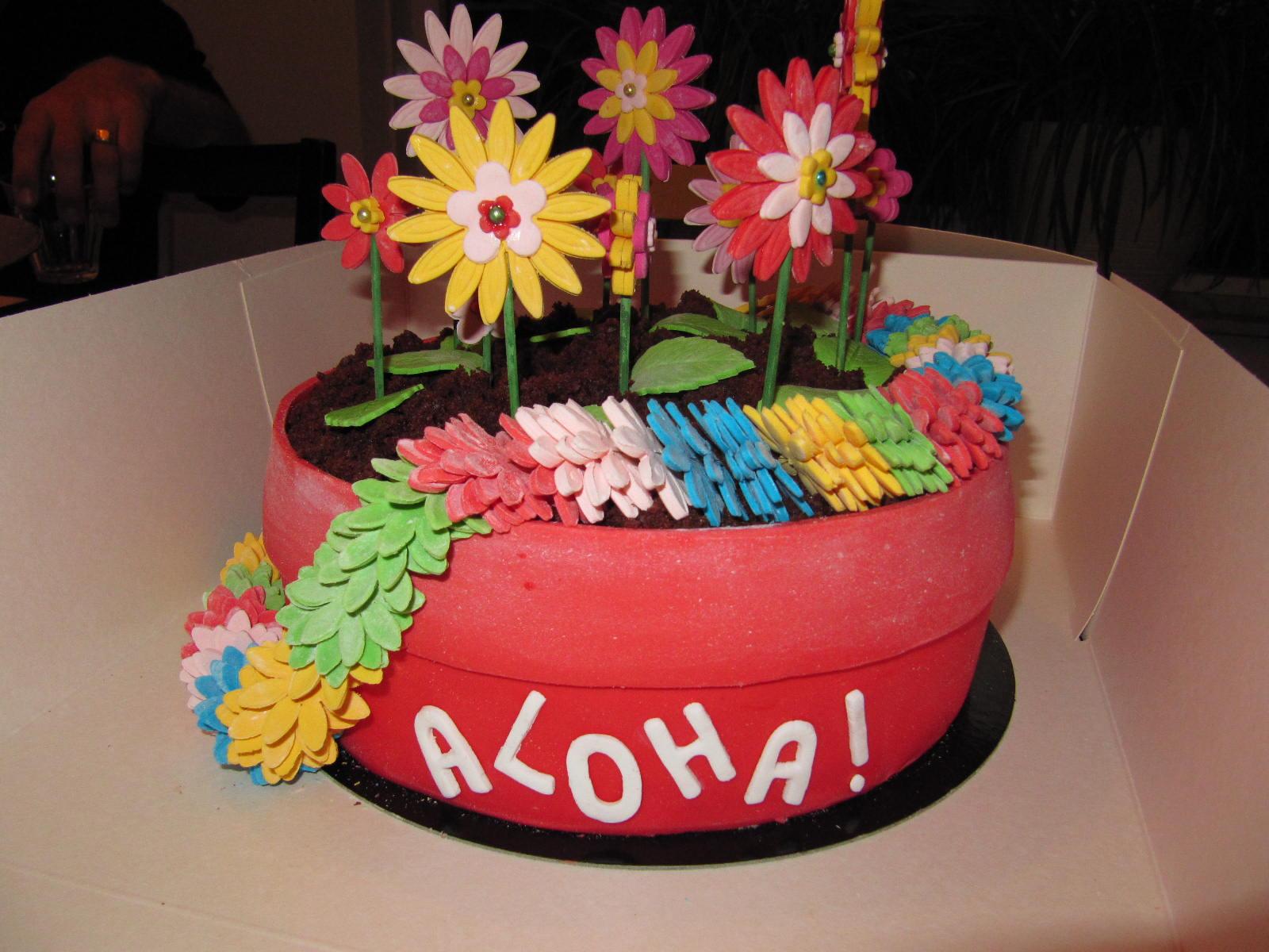 hawaii taart Taarten van Corine: 1ste prijs gewonnen met deze bloempot hawaii  hawaii taart