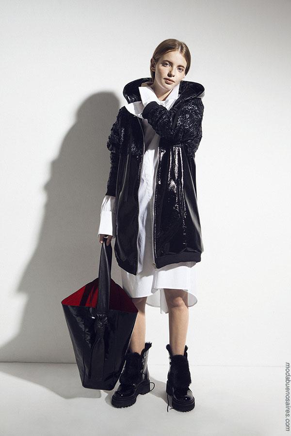 Moda otoño invierno 2018. Ropa de moda mujer otoño invierno 2018.