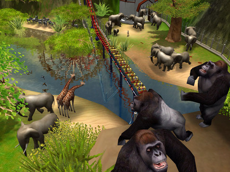 RollerCoaster Tycoon 3 Platinum PC Full Version Screenshot 3