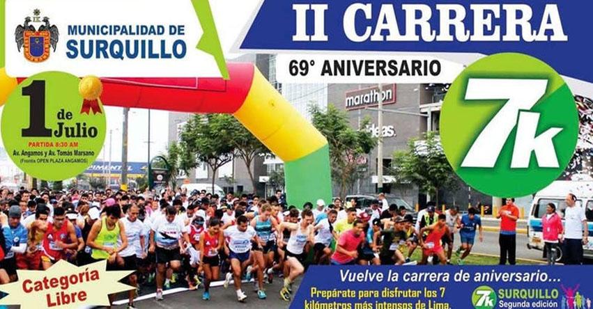 Más de mil personas competirán mañana en la maratón 7K «Surquillo también corre»
