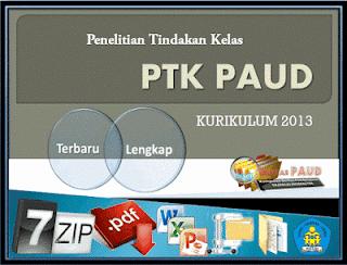 Contoh Proposal PTK PAUD Lengkap