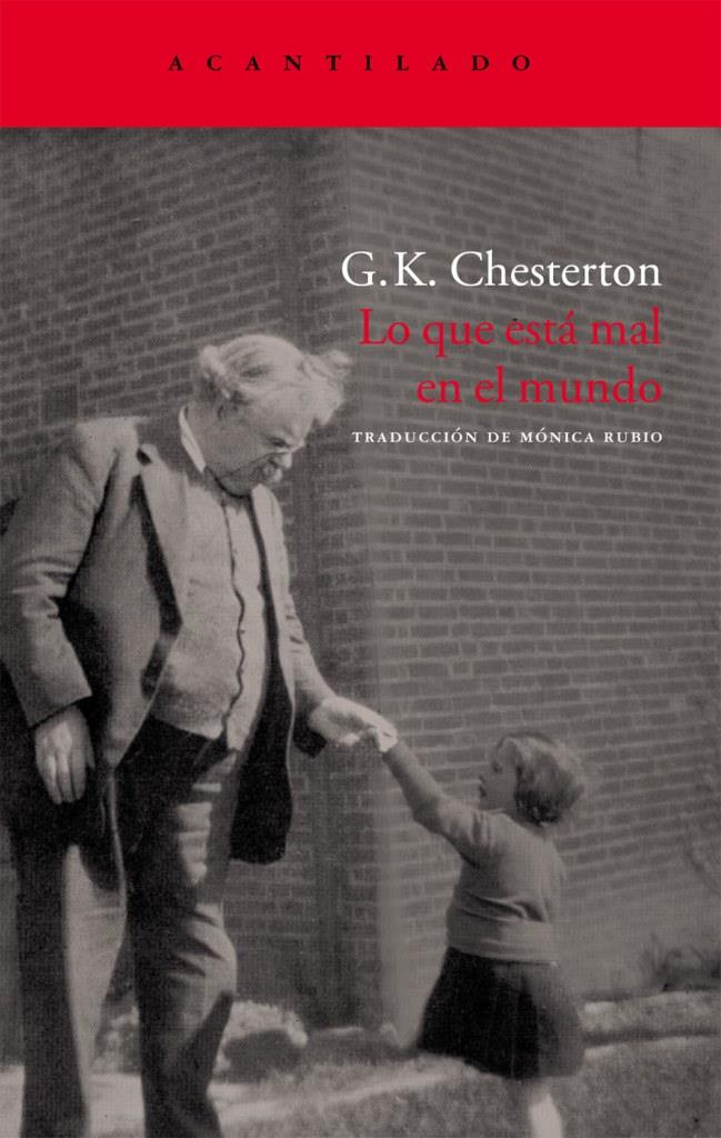 Lo que está mal en el mundo – G. K. Chesterton