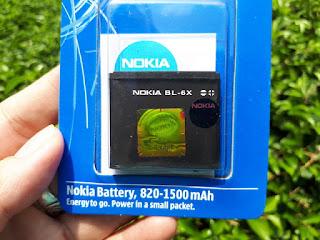 Baterai Nokia 8800 Sirocco BL-6X Murah