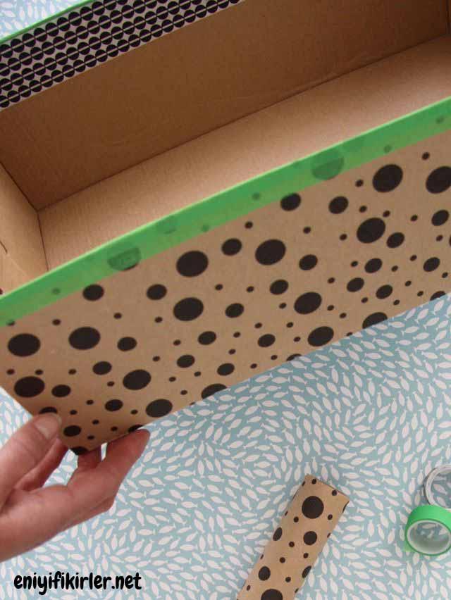 ayakkabı kutusundan langırt nasıl yapılır