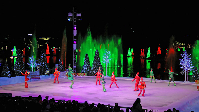 Natal no Sea World em Orlando