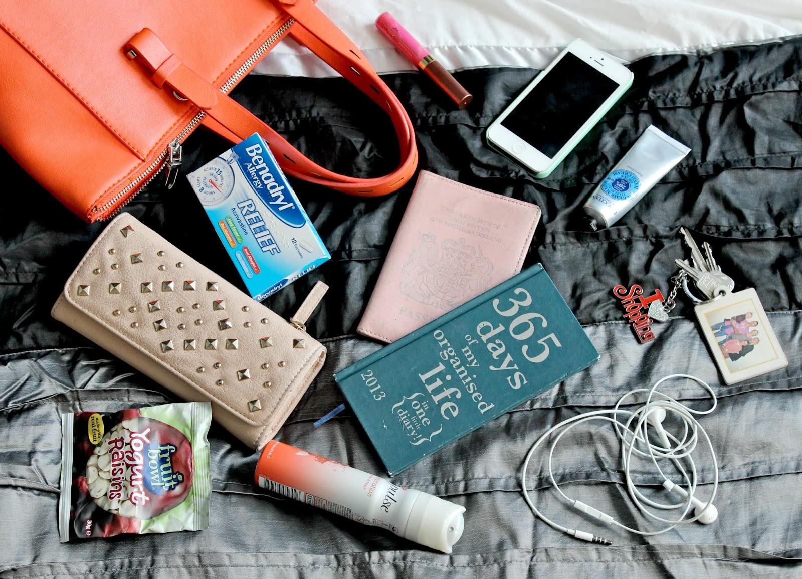 Whats In My Bag The Handbag Beauty Blog
