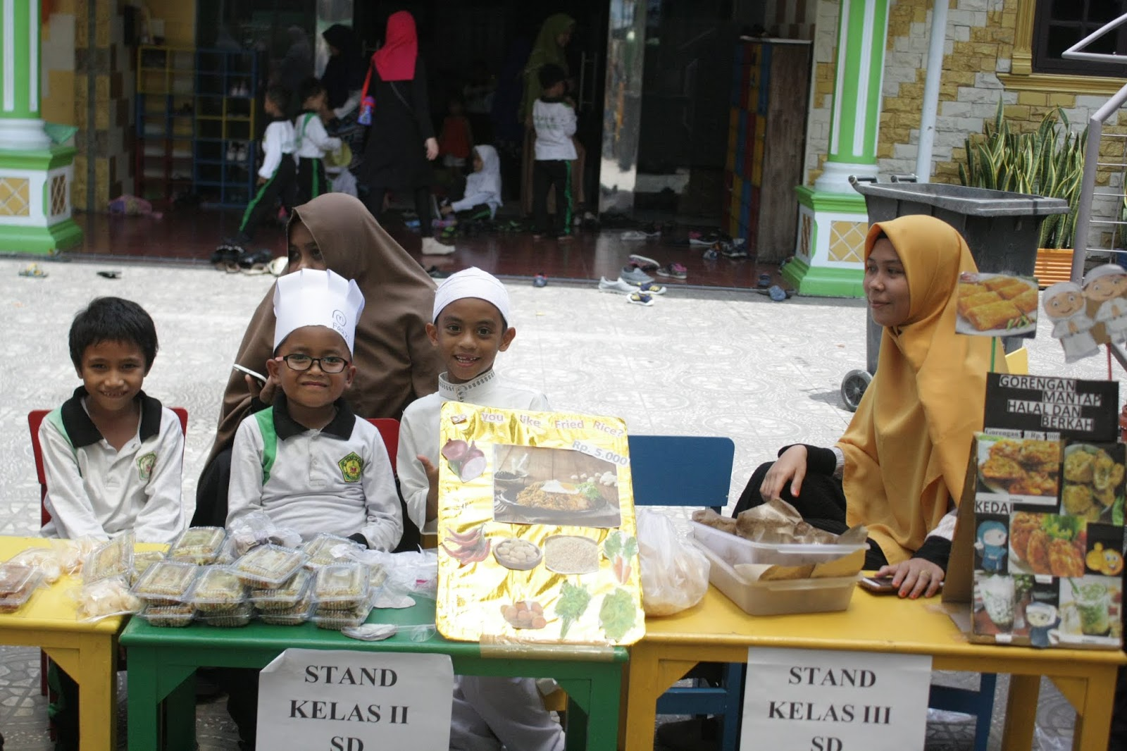 market day untuk anak tk