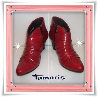 Ghete *Tamaris*, piele naturala, superbe!