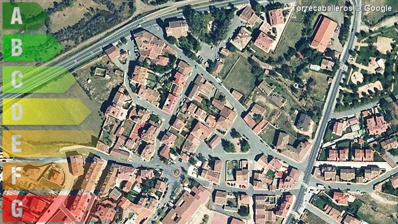 certificado energetico de vivienda y local en torrecaballeros