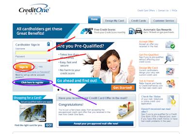 www.creditonebank.com Cardholder Sign In