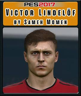 PES 2017 Faces Victor Lindelöf by Sameh Momen