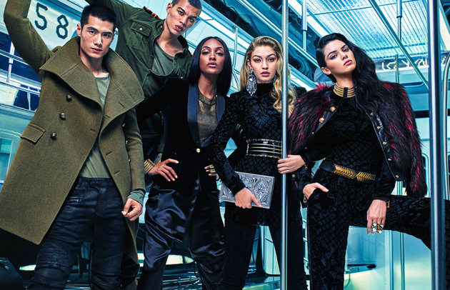 Balmain x H&M Campaign Unveiled!