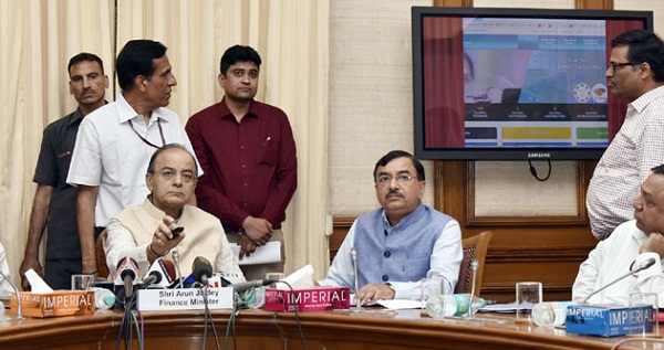 New Delhi, Union Minister of Finance, Arun Jaitley, Operation Clean Money, Income Tax Department
