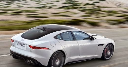 the motoring world after the stunning f type shooting brake comes the 4 door f type. Black Bedroom Furniture Sets. Home Design Ideas